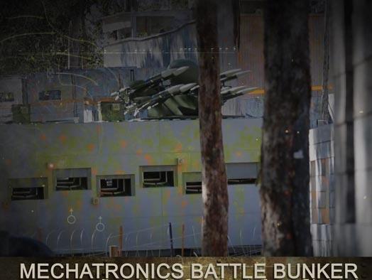 Skirmish Samford Paintball Brisbane battle bunker opening the firing port