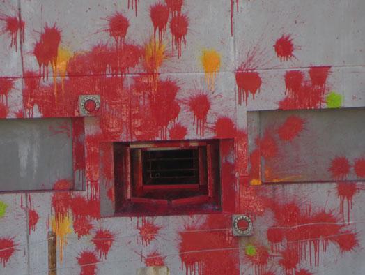 Skirmish Samford Paintball Brisbane battle bunker last remaining firing port