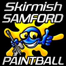 Skirmish Samford Paintball Brisbane Logo